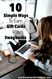 earn gift cards 10 simple ways to earn gift cards with swagbucks