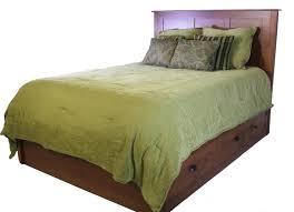 Storage Bed Daniel U0027s Amish Elegance Amish Solid Wood Storage Bed Old Brick