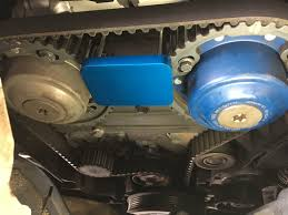 lexus v8 timing marks time to replace my timing belt tensioner and water pump 2004 s60