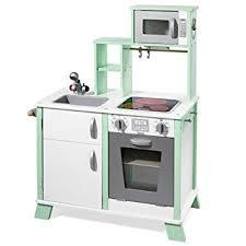 cuisine bois pour enfant howa cuisine en bois pour enfant avec table de cuisson led 48203