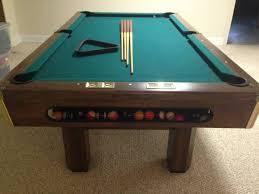 8ft brunswick pool table fantastic used brunswick pool table f80 on modern home decorating