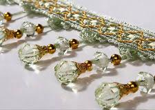 wholesale curtain tassel sewing diy craft 1 meter crystal bead