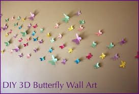 moomama diy 3d butterfly wall art with free templates