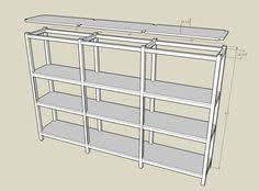 Basement Wooden Shelves Plans by Plywood Shelf Plans This Bookcase Is Made From 3 4 Plywood 2x4 S
