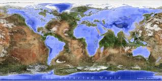 Seas Of The World Map by The Inverted World Map Variations On A Blue Marble 3develop