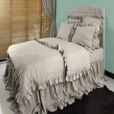 100 Linen Duvet Cover Linen Flax Sheets Belgian Flax Linen Duvet Cover Shams Natural