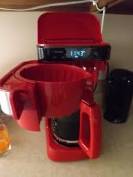Small Red Kitchen Appliances - hamilton beach 12 cup programmable coffee maker model 46300
