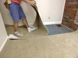 Carpeting Over Laminate Flooring How Do You Lay Carpet Over Concrete Carpet Vidalondon