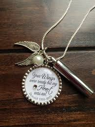 personalized cremation necklace your wings were ready but my