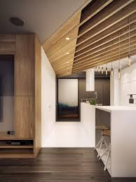 Interior Kitchen Design by Dramatic Interior Architecture Meets Elegant Decor In Krakow