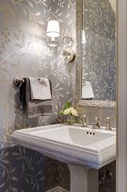 powder rooms with wallpaper modern twist on a traditional home traditional powder room