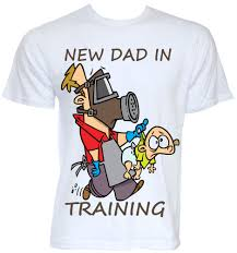 new daddy t shirts funny novelty baby dad joke pregnancy shower