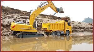 trucks excavator dump truck for children videos for kids car