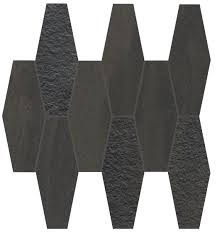 Elegance Black And White Mosaic by Elegance Horizon Italian Tile