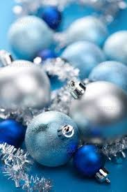 Blue Christmas Decorations Background by Close Up Of A Red Christmas Ball With Green Star Background