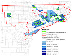 Detroit In World Map by Revitalizing Detroit Requires Development Of Specific