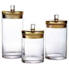 clear glass canisters for kitchen best 25 glass canisters ideas on flour container big