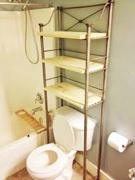over the toilet etagere bathroom toilet organizer bathroom etagere over toilet