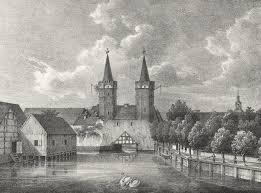 Pyritz Kreis Pyritz Pommern Family History Prussia Stargard Ansicht Des Mühlentores Tore In Pommern History