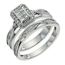 bridal sets uk bridal sets h samuel wedding ring sets