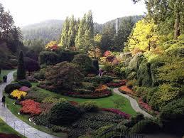 butchart gardens victoria british columbia intogardens