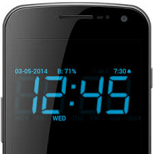 digital clock widget apk sponsored app review digital alarm clock androidheadlines