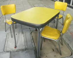 50s style kitchen table useful 50s style kitchen table vintage dinette set formica