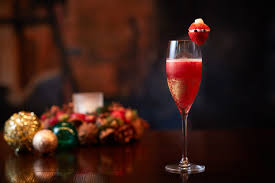 christmas champagne cocktails christmas cocktail the oak door bar restaurants at a luxurious