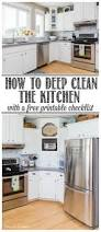 clean and organize the kitchen february hod printables clean