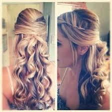 half up half down prom hair hairstyles weekly