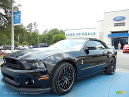 Black Mustang Shelby 2013 Black Ford Mustang Shelby Gt500 Svt Performance Package