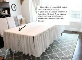 How To Make A Table Skirt by Best 25 Ruffled Tablecloth Ideas On Pinterest Slipcovers