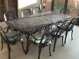 wrought iron outdoor dining table wrought iron outdoor furniture sets home designing wrought iron