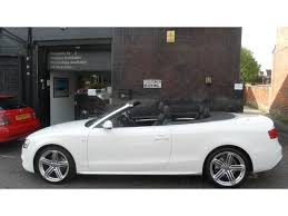 white audi a5 convertible used audi a5 2012 model 2 0 tdi 177 s diesel convertible white for