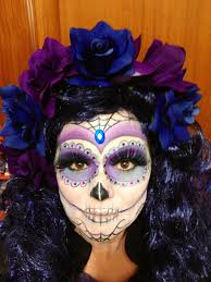 Sugar Skull Halloween Costumes Catrina Makeup Sugar Skull Makeup Sugar Skulls
