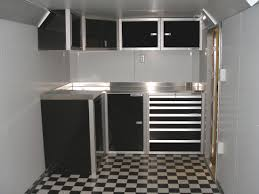 V Nose Enclosed Trailer Cabinets by Enclosed Trailer Aluminum Cabinets Best Home Furniture Design