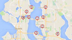 Seattle Marathon Map by Montlake Seattle Curbed Seattle