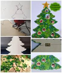 20 fun to make easy christmas paper crafts with your kids tree