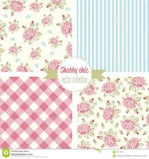 shabby chic rose pattern stock image image 27265461
