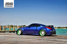 custom nissan 350z nissan 350z on iss forged fm 20 iss forged handcrafted for
