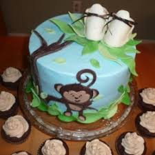 monkey baby shower cake manly baby shower cake ideas and birthday decoration along with