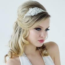wedding headband vintage inspired embellished wedding headpiece mabel luxe