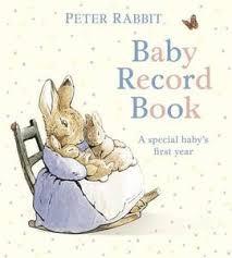 baby record book rabbit baby record book beatrix potter book in hardback