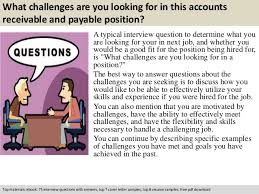 Accounts Receivable And Payable Resume Accounts Receivable And Payable Interview Questions