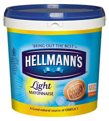 hellmans light mayo nutrition hellmann s light mayonnaise 10l unilever food solutions uk