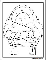baby jesus coloring page nativity scene coloring pages great printable christmas coloring