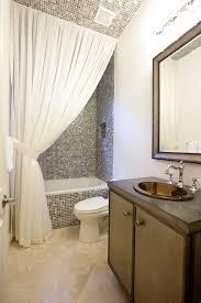 Bathroom Window Curtain Ideas Shower Curtain Ideas Bathroom Contemporary With Curtain Panel