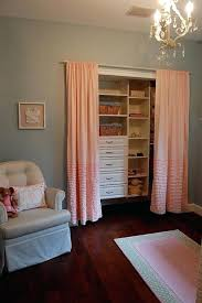 Curtains As Closet Doors Curtain Closet Doors 100 Images 9 Clever Ways To Conquer Your