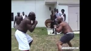 Backyard Brawls Kimbo Slice Watch This Is The Street Fight That Sent Kimbo Slice Into The Ufc