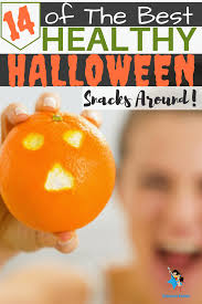 enjoy these healthy halloween treats instead of candy